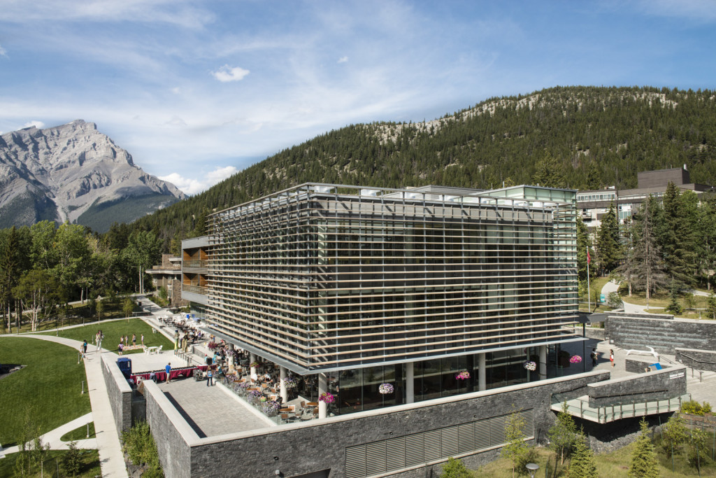 Kinnear Centre for Creativity and Innovation, The Banff Centre. Photo by Don Lee.